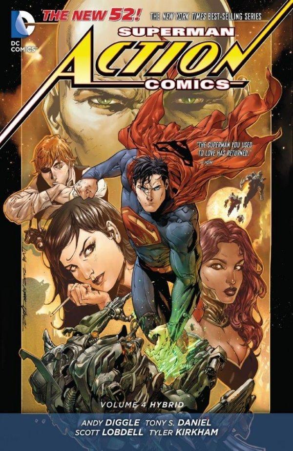 Superman Action Comics Vol. 4: Hybrid HC