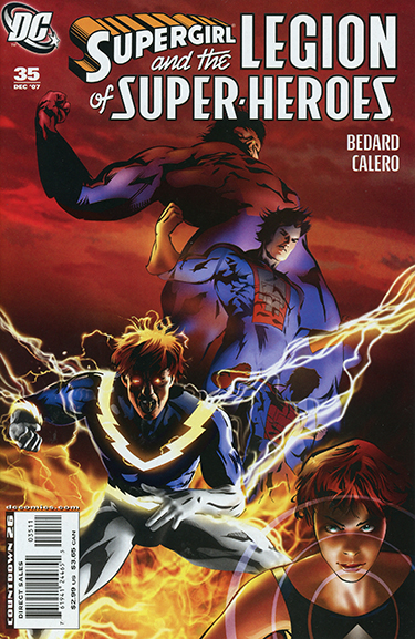 Supergirl and the Legion of Super-Heroes #35