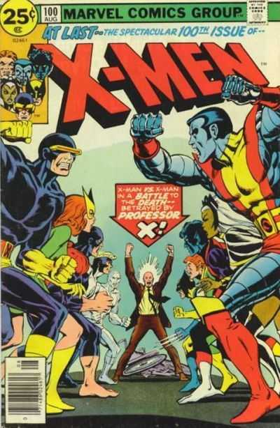 The X-Men #100