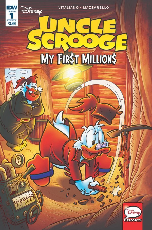 Uncle Scrooge: My First Millions #1