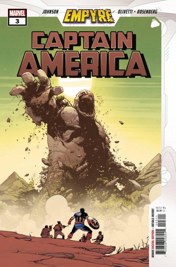 Empyre: Captain America #3