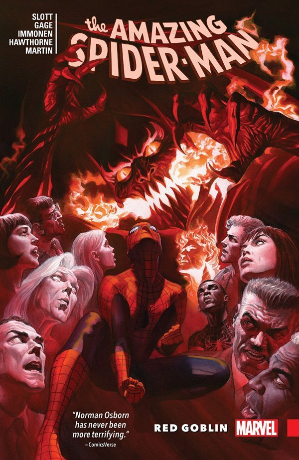 The Amazing Spider-Man Red Goblin TP