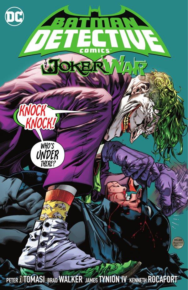 Detective Comics Vol. 5: The Joker War HC