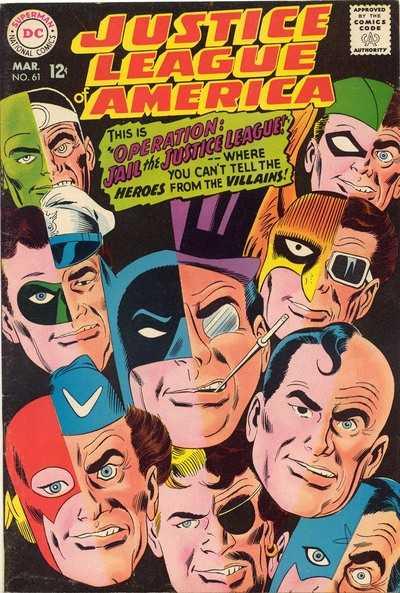 Justice League of America #61