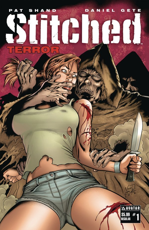Stitched Terror #1 review
