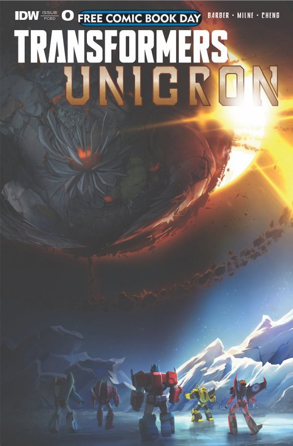 Free Comic Book Day 2018: Transformers: Unicron - The Darkest Hour #0