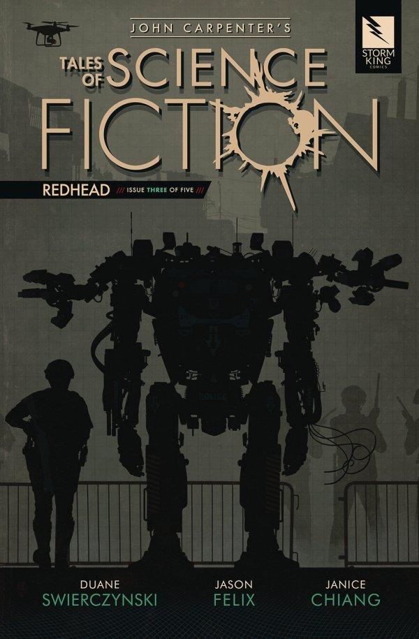 John Carpenter's Tales of Science Fiction: Redhead #3