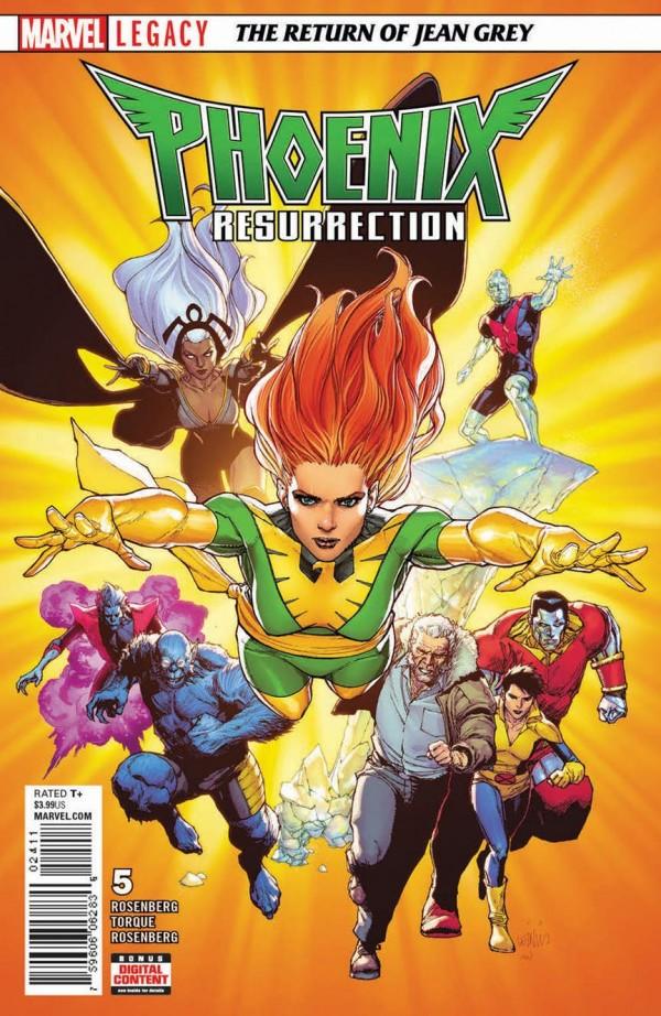 Phoenix Resurrection: The Return of Jean Grey #5