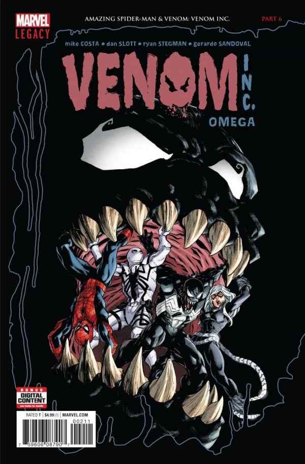 Amazing Spider-Man & Venom: Venom Inc. Omega #1