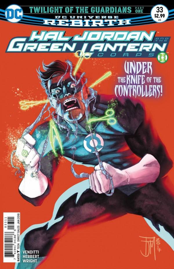 Hal Jordan and the Green Lantern Corps #33