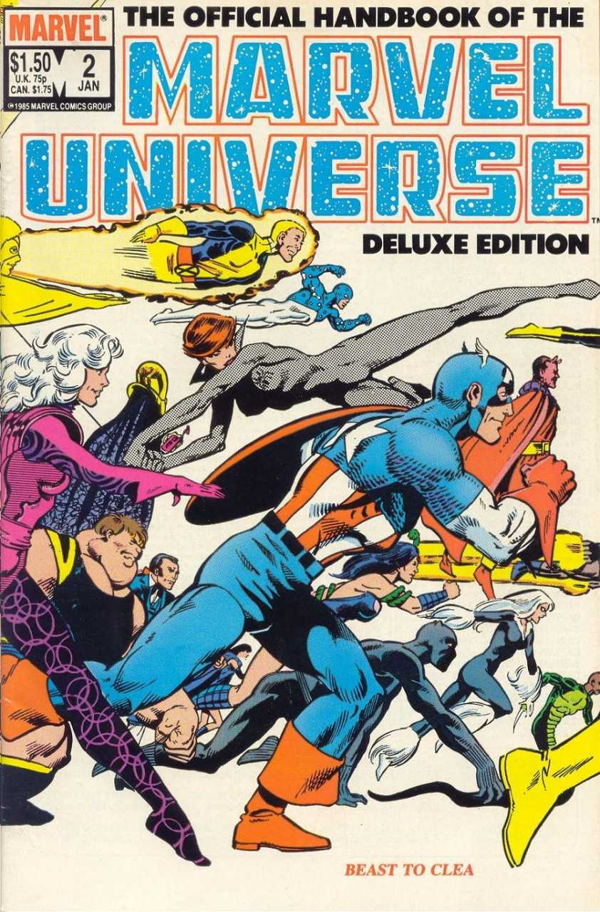 The Official Handbook of the Marvel Universe #2