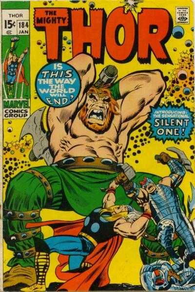 The Mighty Thor #184