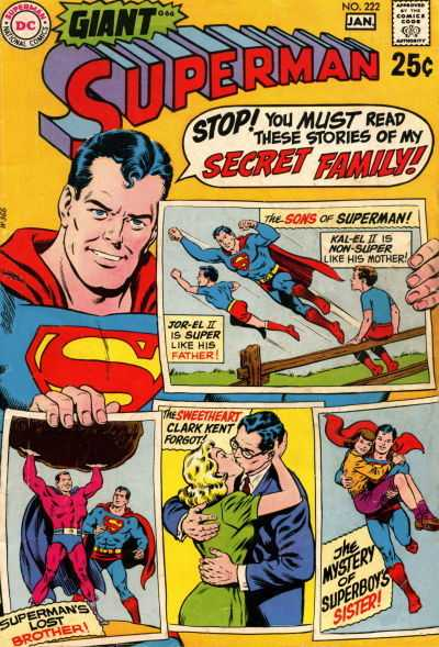 Superman #222
