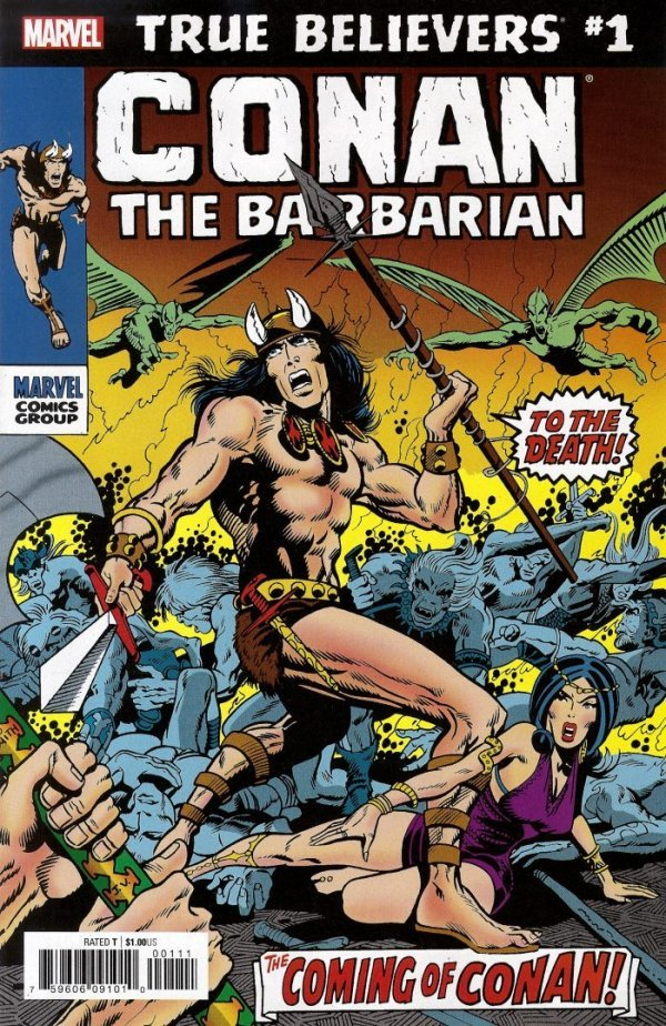 True Believers: Conan the Barbarian #1