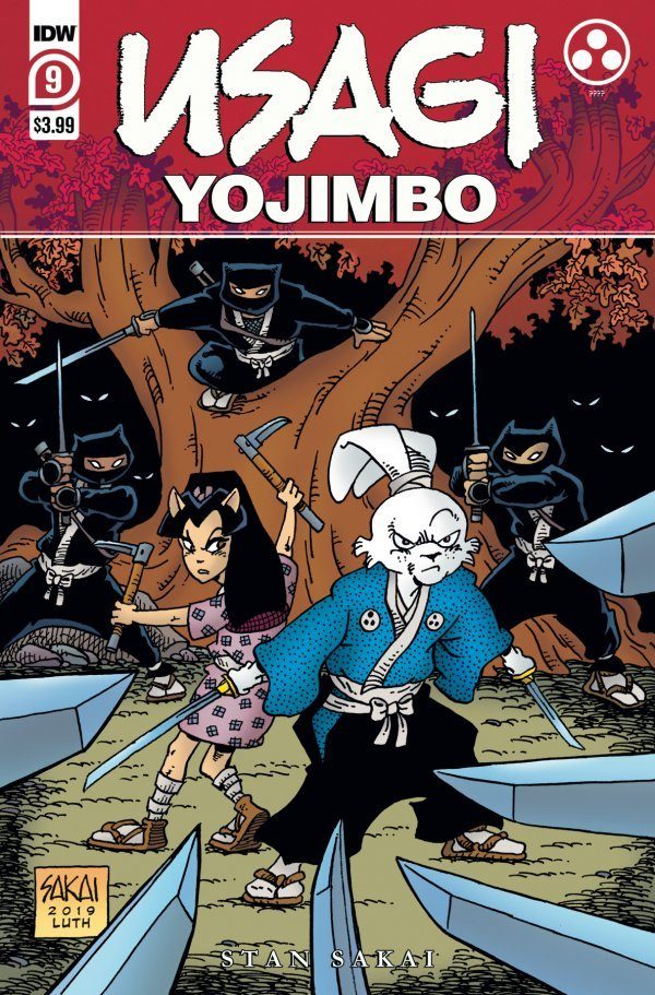 Usagi Yojimbo #9