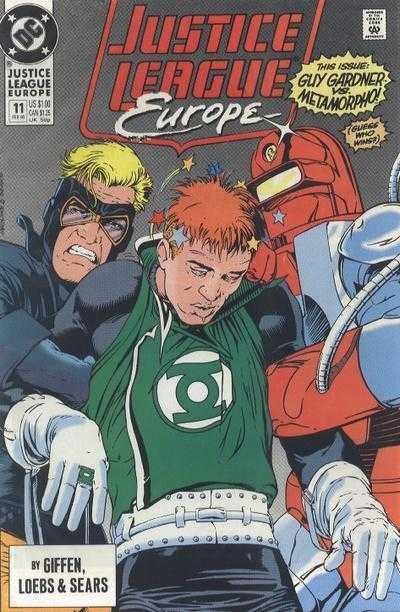 Justice League Europe #11