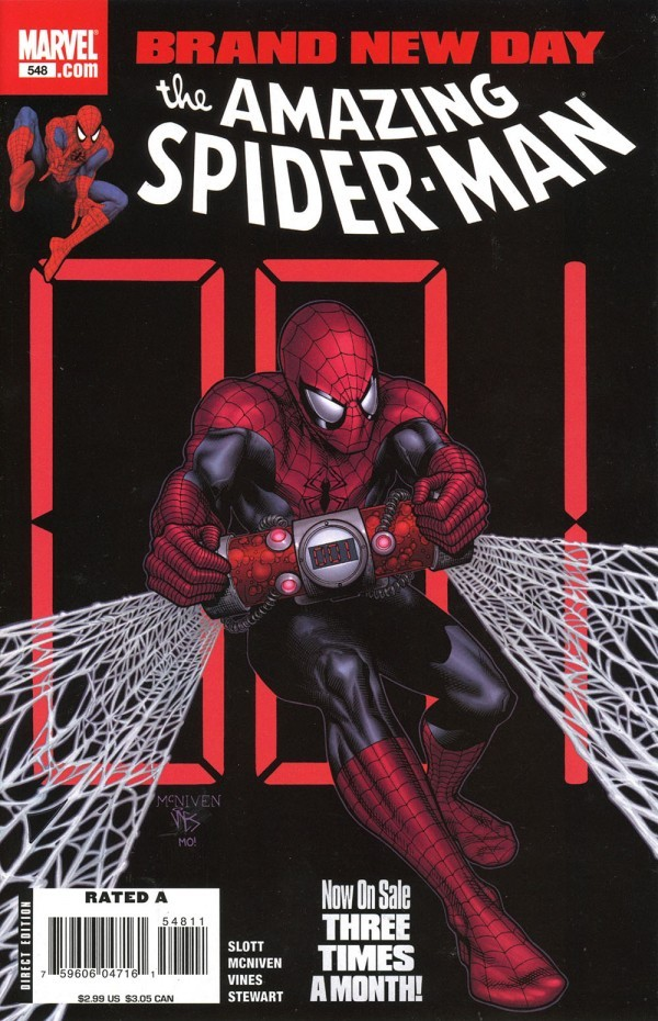 The Amazing Spider-Man #548