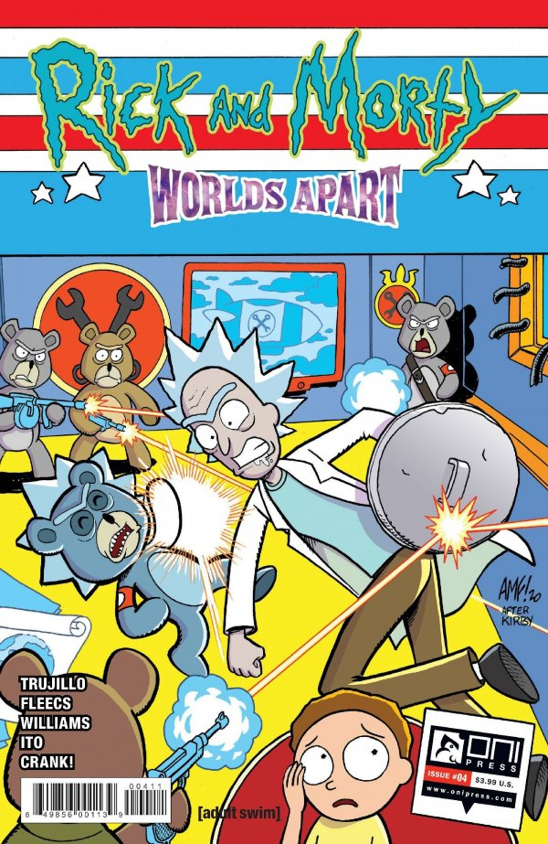 Rick and Morty: Worlds Apart #4