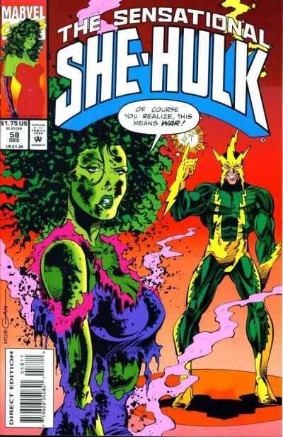 The Sensational She-Hulk #58