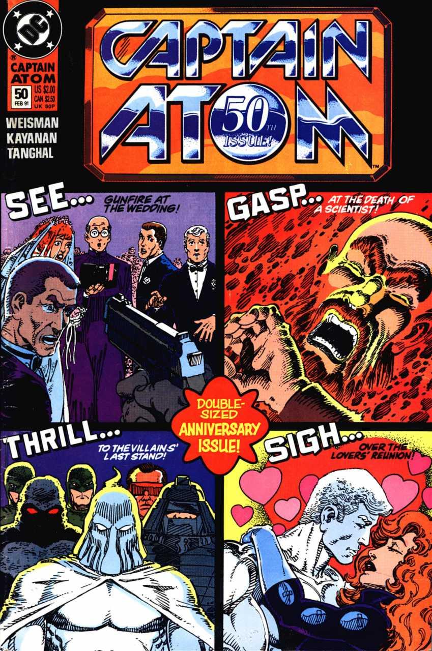 Captain Atom #50