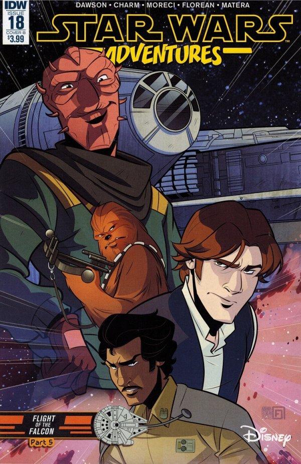 Star Wars Adventures #18