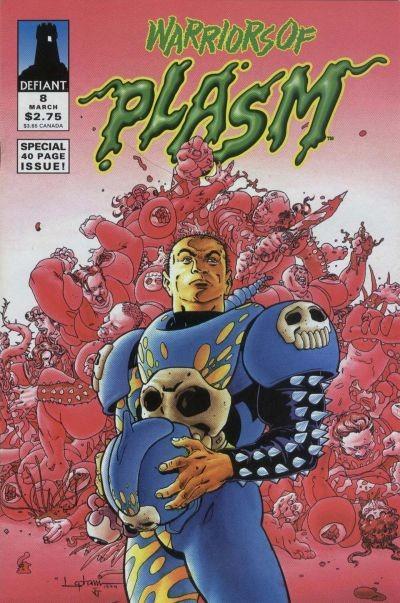 Warriors of Plasm #8