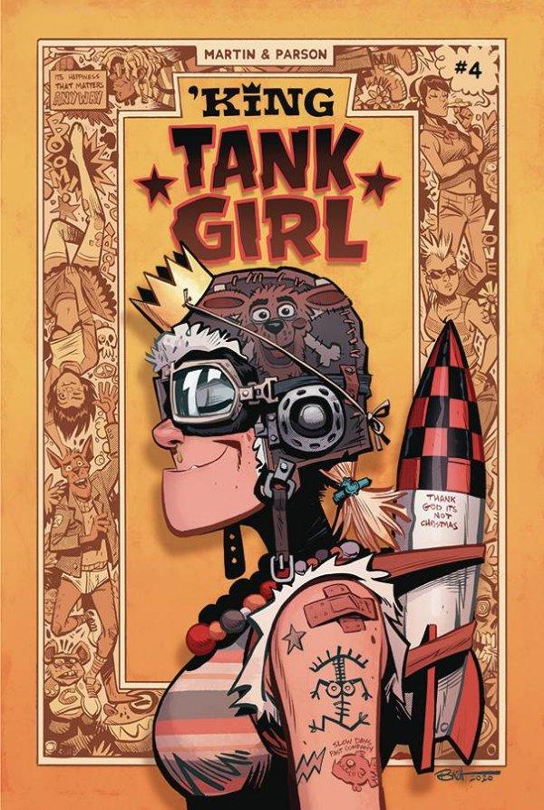 'King Tank Girl #4