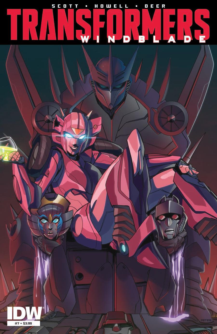 The Transformers: Windblade #7