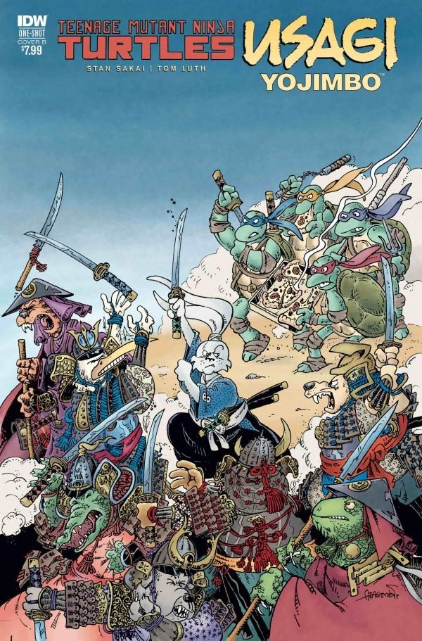 Teenage Mutant Ninja Turtles / Usagi Yojimbo #1