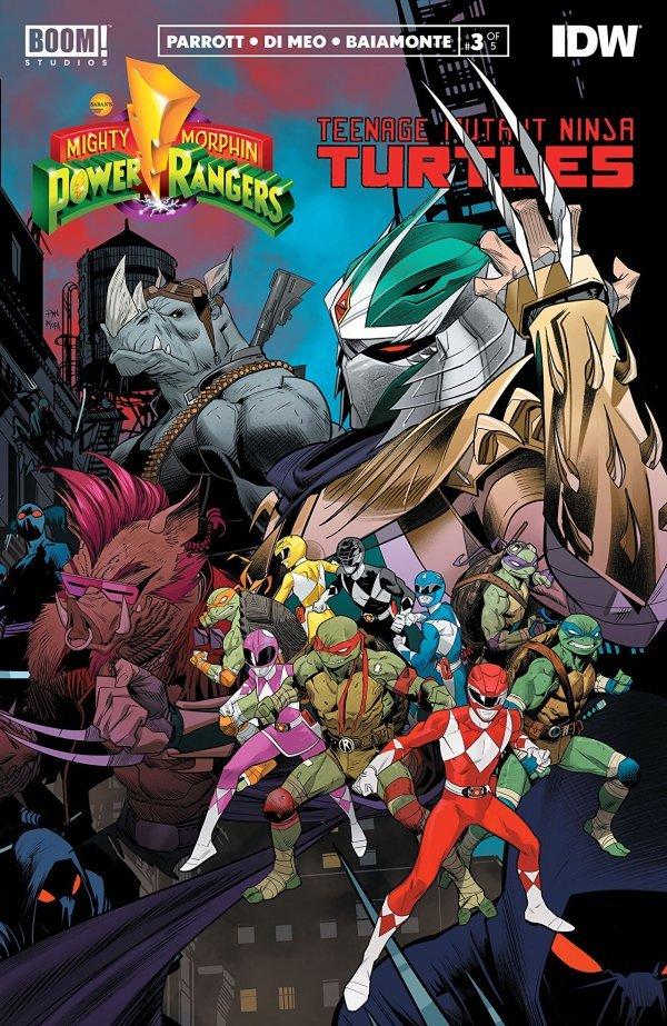 Mighty Morphin Power Rangers / Teenage Mutant Ninja Turtles #3