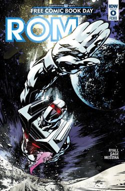 ROM #0 Free Comic Book Day 2016 Edition