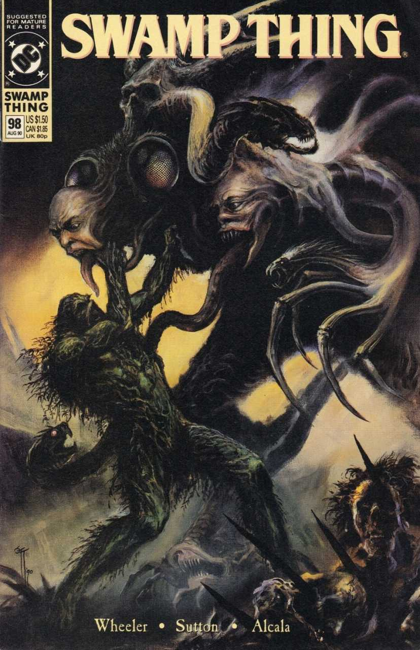The Saga of the Swamp Thing #98