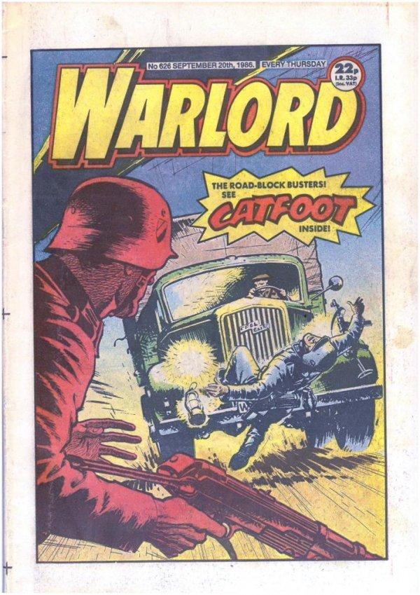 Warlord #626
