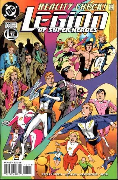 Legion of Super-Heroes #105