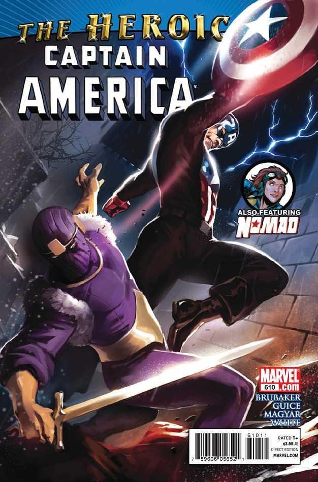 Captain America #610