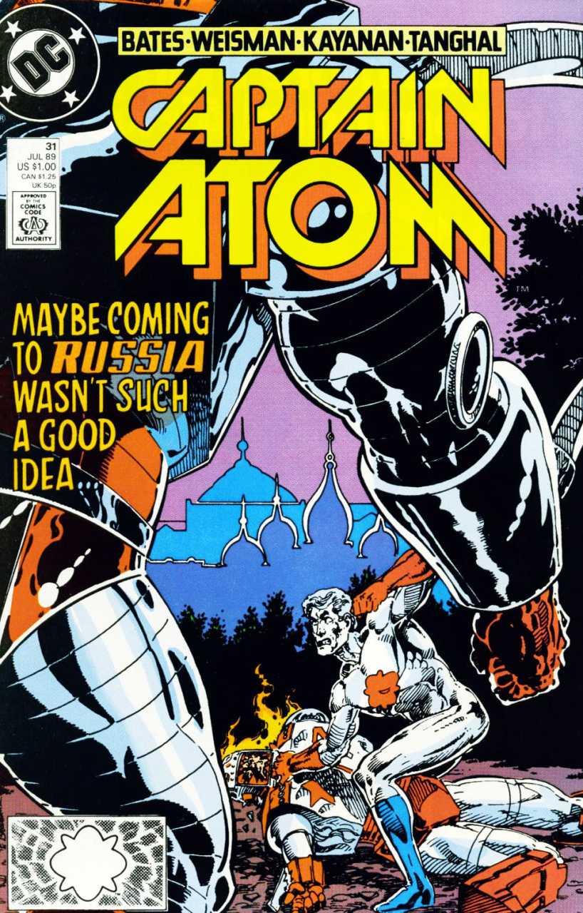 Captain Atom #31