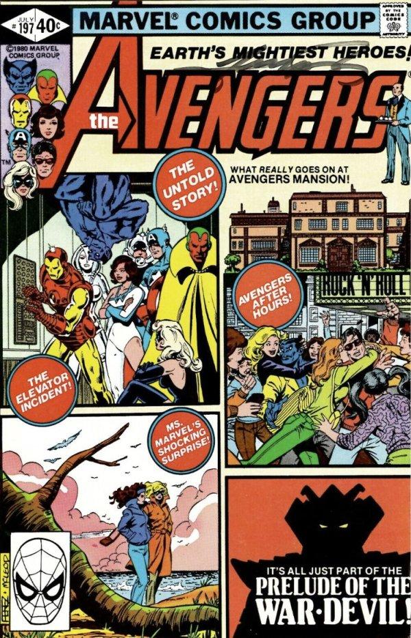 The Avengers #197