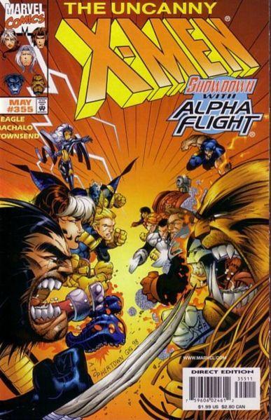 Uncanny X-Men #355