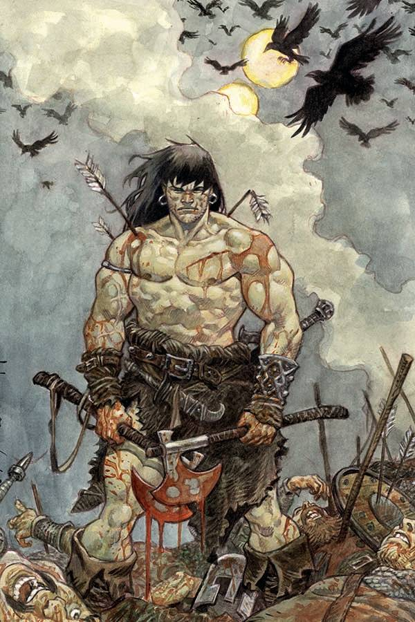 The Cimmerian: Iron Shadows in the Moon #3