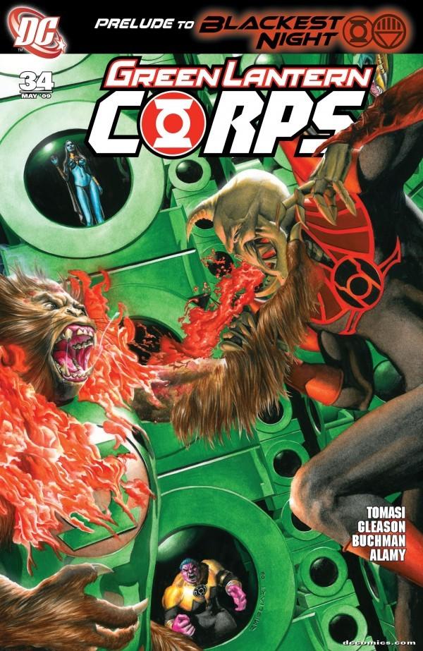 Green Lantern Corps #34