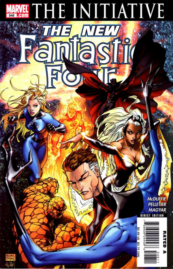 Fantastic Four #548