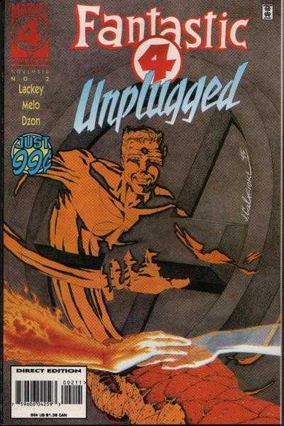 Fantastic Four Unplugged #2