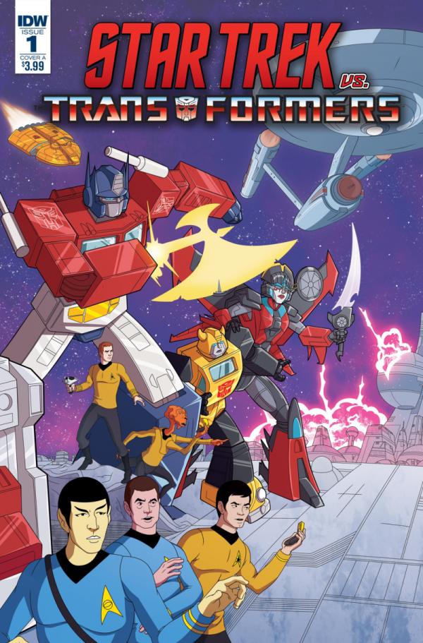 Star Trek vs. Transformers #1