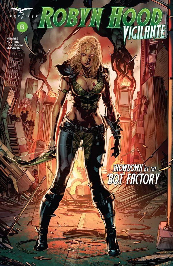 Robyn Hood: Vigilante #6 review