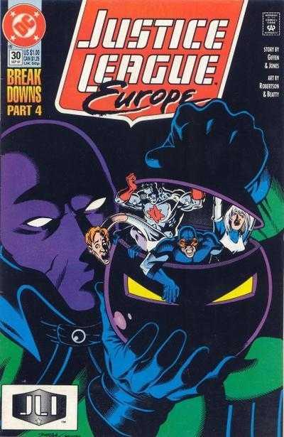 Justice League Europe #30