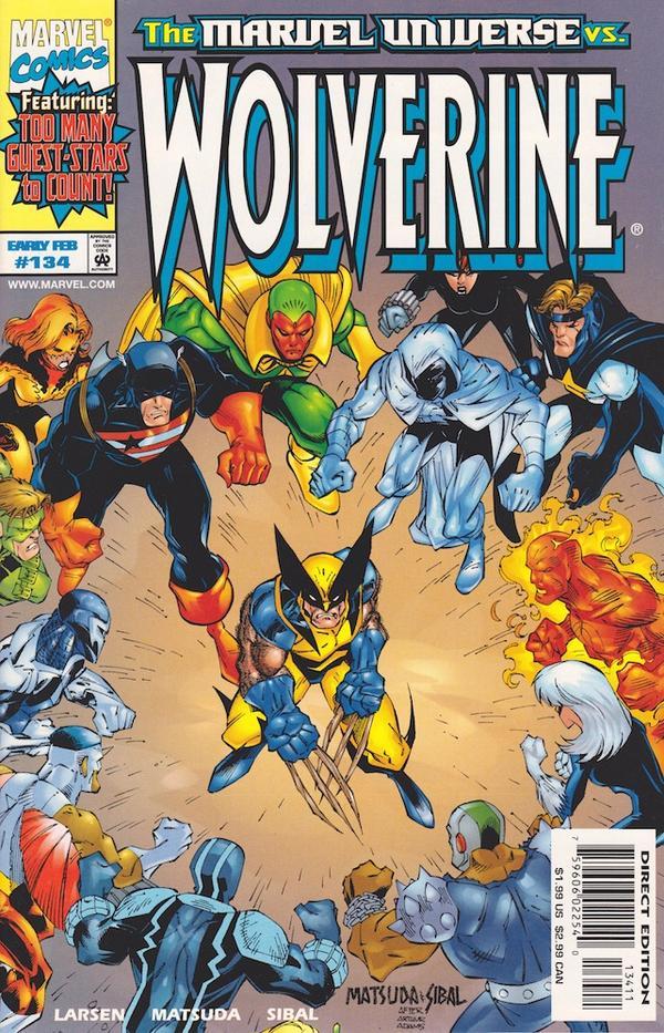 Wolverine #134