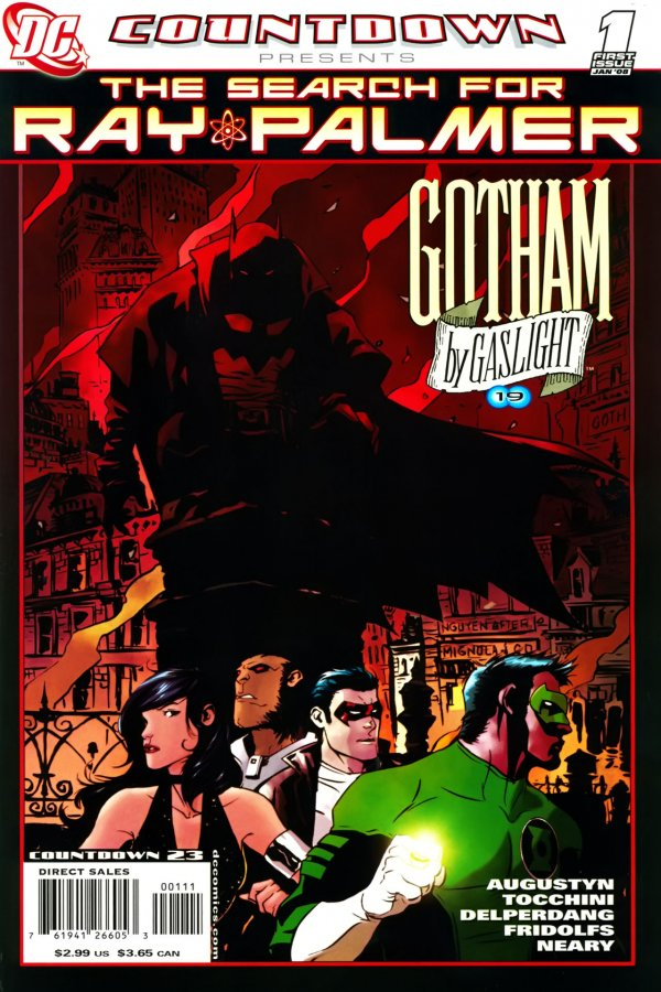 Countdown Presents: The Search For Ray Palmer - Gotham by Gaslight #1