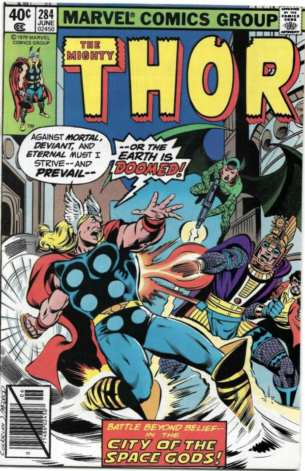 The Mighty Thor #284
