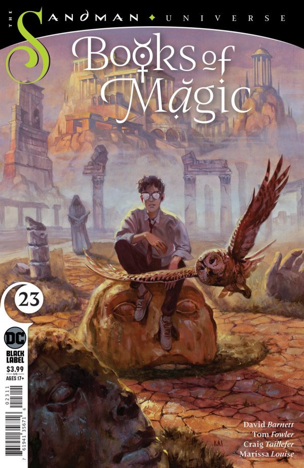 Books of Magic #23 review