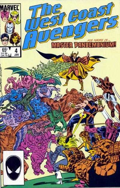 The West Coast Avengers #4